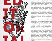 Health Magazine Layout