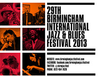 Birmingham Jazz Festival 2013 Posters
