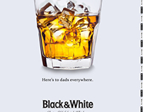 Black and White Whiskey: Father's Day Print