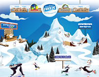 ESSELWORLD FREEZE - Website Design