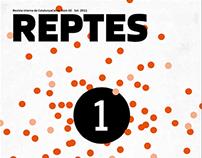"Magazines interactivos on-line ""Reptes"" Catalunya Caixa"