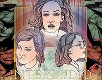 Diseño e ilustración de afiche - Interludio película