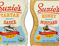 Suzie's Organics Labels Illustrated by Steven Noble