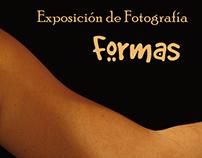 "Flyer Exposición ""Formas"""