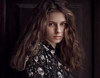 Portrait of model Marta from Rebel Models Agency