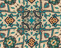 4 Ethnic Fabric Seamless Patterns