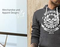 Merchandise & Apparel designs V.1