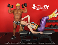 Gym Bodypainting duo