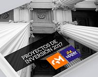 Proyectos de Inversión ESTUDIO GÁLVEZ MONTEAGUDO