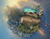 SMITE - Miniature worlds