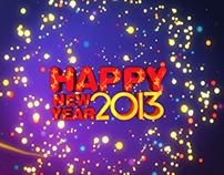 New Year 2013 Aaj news title