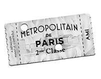 Tickets de métro for AMI