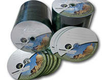 Custom Designed and Printed CDs and DVDs