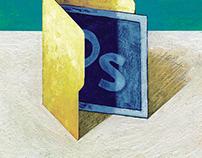 Digital Painting Editorial