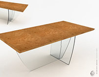COSS Table : COrk + glaSS