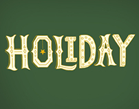 Pfeil & Holing Social Media Holiday Hand-Lettering