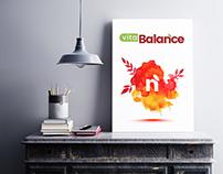 Vita Balance Logo Design