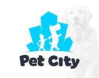 Diseño de Logotipo para Pet City