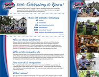 Hampton Save-a-Landmark 10th Anniv. Flyer