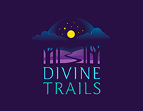 Divine Trails Logo Design