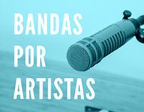 Bandas por Artistas