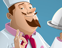 Vector Chef Illustration