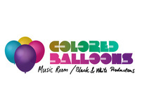 Colored balloons logo