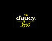 Conception et Direction artisique # Site daucybio.fr