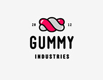 Gummy Industries Logo Animation
