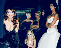 The corsetry brigade - backstages