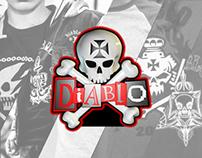 Ilustrações para marca Diablo Street Wear