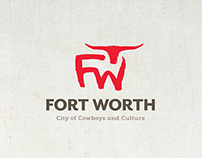 Fort Worth Convention & Visitors Bureau Identity Design