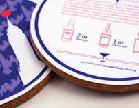 Cocktail Symbols & Coasters