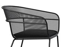 Full CGI / 3D Modeling Scoop Outdoor Chair