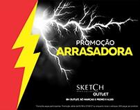 PROMOÇÃO ARRASADORA - Sketch Men's Collection