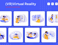 M212_Virtual Reality Illustrations