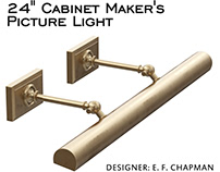 Cabinet Maker's Picture Light