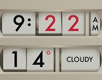 Futura Clock