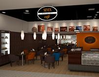 Seven Café - Projeto de merchandising