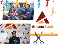 Amana Bank - Identity & Event Branding