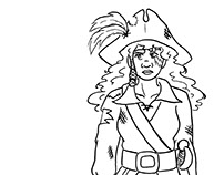 Pirate Turn Around