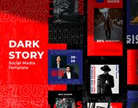 Dark Story Instagram Template