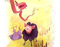 illustration for a nursery rhyme