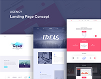 Landing Page Concept | Agency
