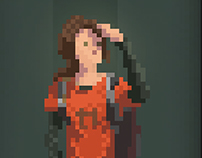 The Last Of Us Pixel Fanart