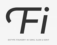 Ni Sans, Slab & Serif