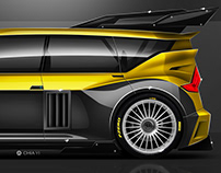 Renault Espace F1 Hommage concept.