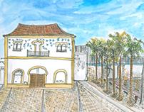 Old Bridge Sketch