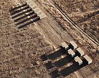 Aerials of Marfa, Texas for Vanity Fair Magazine.