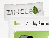 ZincLeaf Website